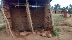 The Water Project : 5-kenya4606-old-latrines
