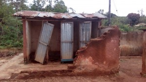 The Water Project : 5-kenya4609-latrines