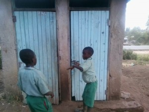 The Water Project : 6-kenya4607-latrines