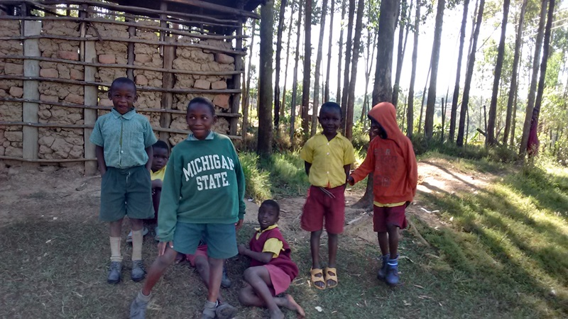 The Water Project : 8-kenya4604-students