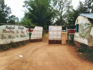 The Water Project : 1-kenya4613-school-entrance