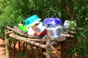 The Water Project : 11-kenya4634-dish-rack