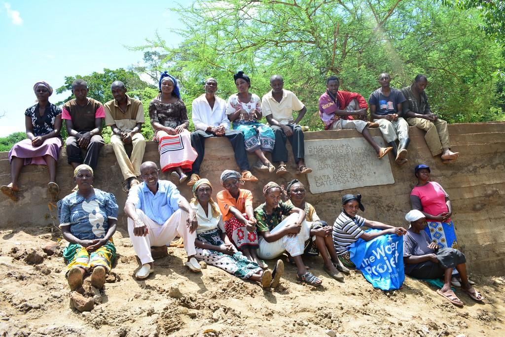 Syakama Sand Dam Project