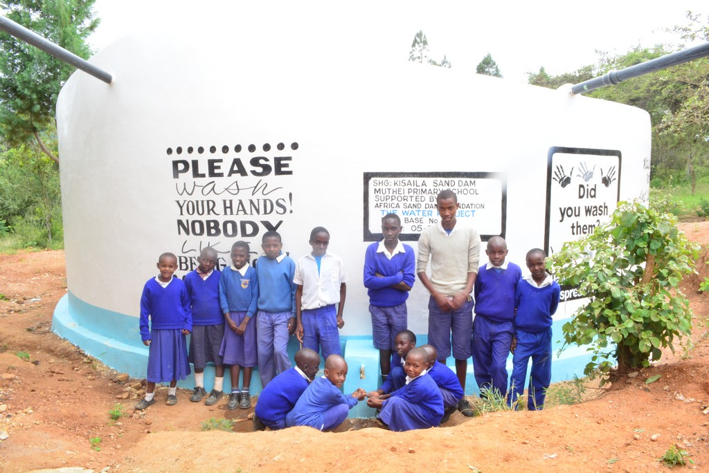 Muthei Primary School Rainwater Catchment Project