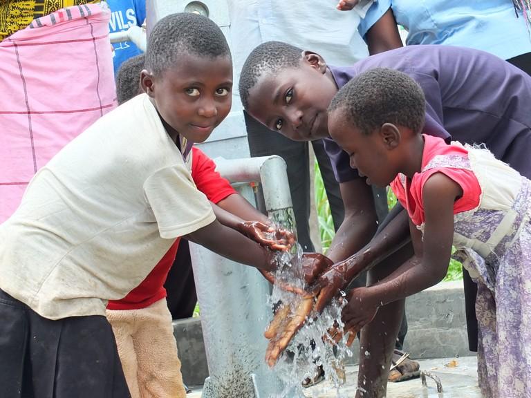 Lutinye Community Well Rehabilitation Project