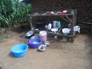 The Water Project : 10-kenya4615-dish-rack