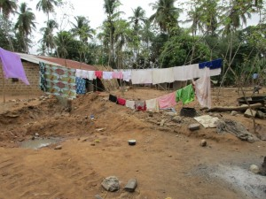 The Water Project : 10-sierraleone5085-clothesline