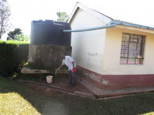 The Water Project : 12-kenya4616-existing-water-tank