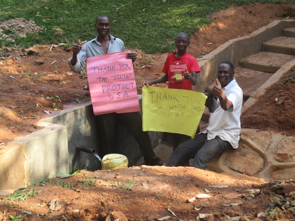 Hedwe Spring Protection Project