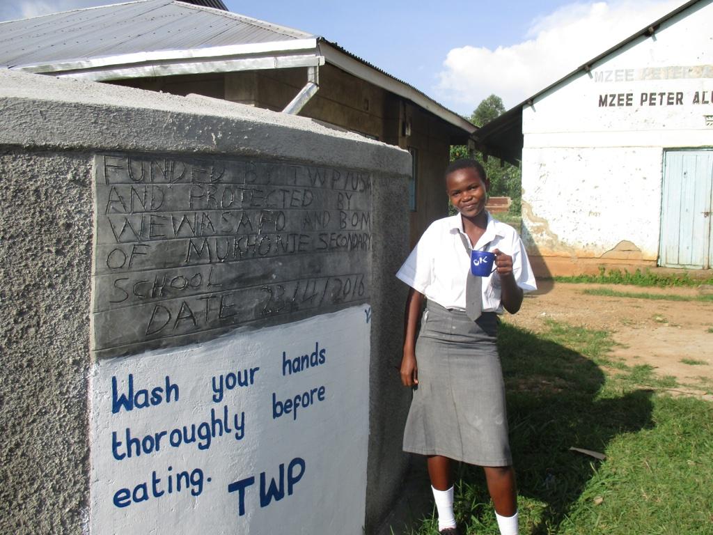 Friends School Mukhonje Rainwater Catchment Project