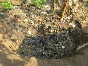 The Water Project : 14-sierraleone5086-rubbish-pit