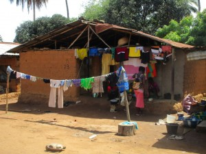 The Water Project : 14-sierraleone5088-clothesline