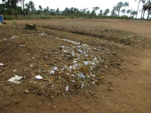 The Water Project : 15-sierraleone5099-rubbish-pile