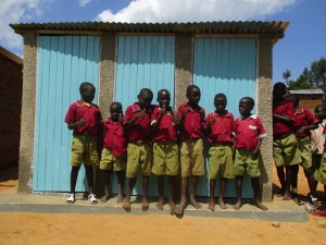 The Water Project : 16-kenya4606-complete-latrines