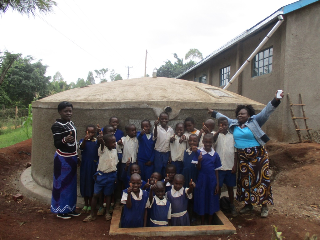 Esalwa Primary School Rainwater Catchment Project