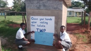 The Water Project : 18-kenya4610-finished-latrines