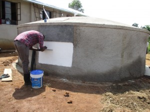 The Water Project : 19-kenya4608-finishing-touches