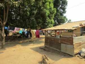 The Water Project : 2-sierraleone5098-clothesline