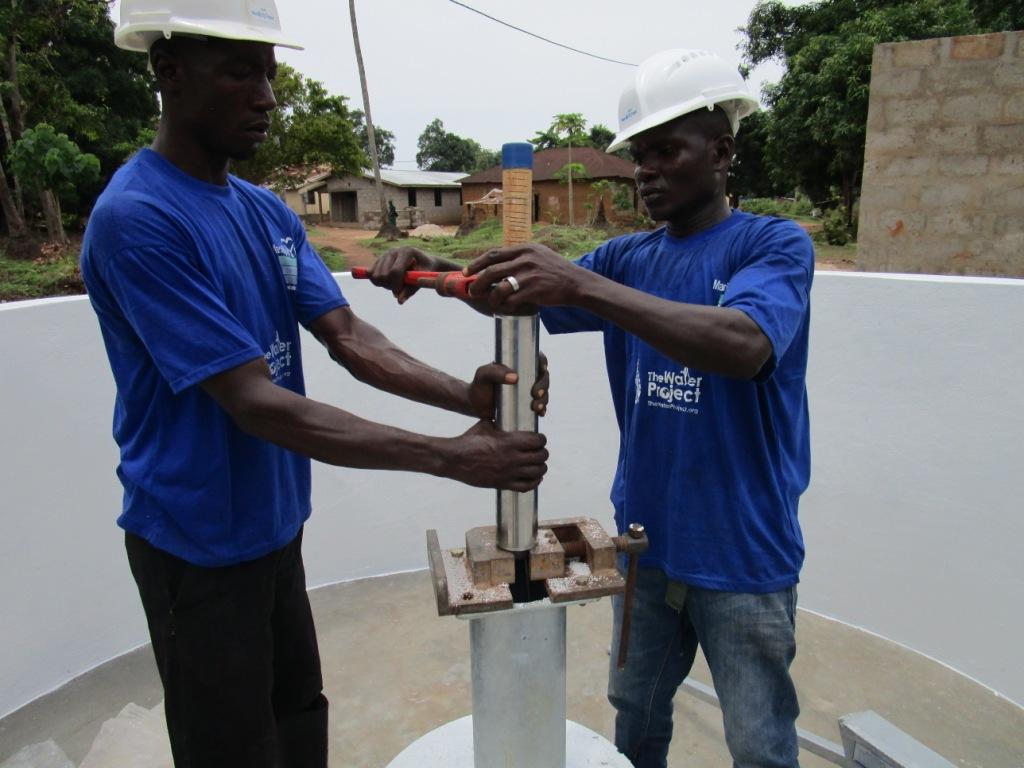 20 sierraleone5086 pump installation