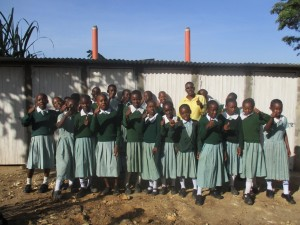 The Water Project : 21-kenya4607-finished-latrines