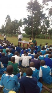 The Water Project : 22-kenya-4605-bible-distribution