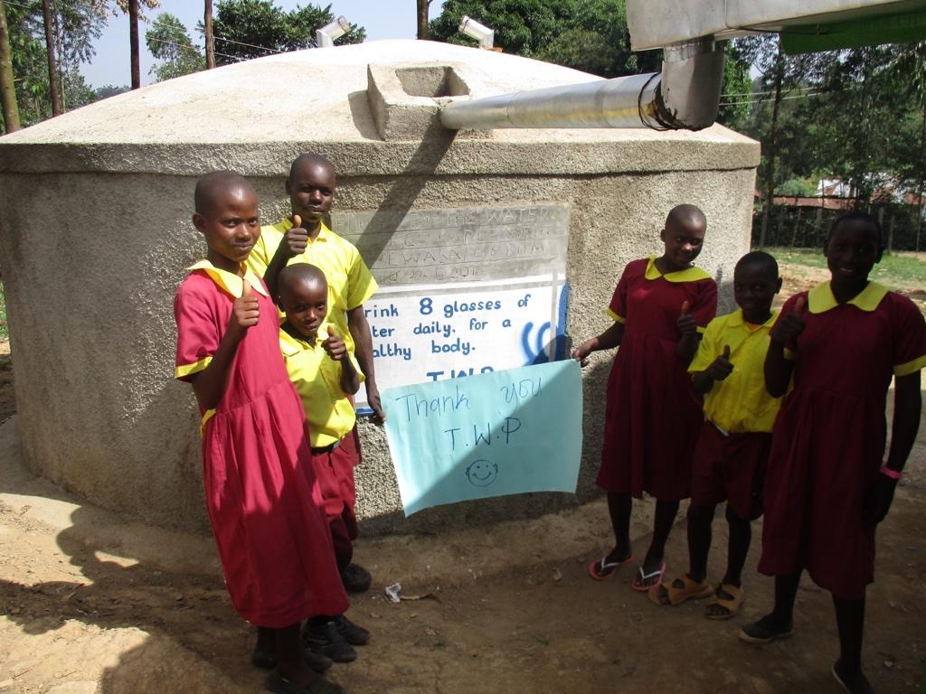 Iguyio Primary School Rainwater Catchment Project