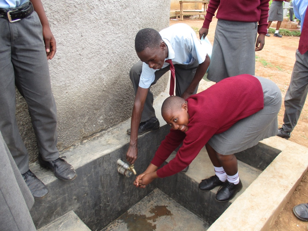 St. Michael Emakwale Secondary School Rainwater Catchment Project
