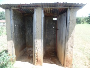 The Water Project : 4-kenya4614-latrines