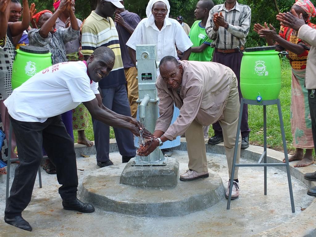 Chebwai B Community Well Rehabilitation Project