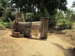 The Water Project : 5-sierraleone5084-bathing-room