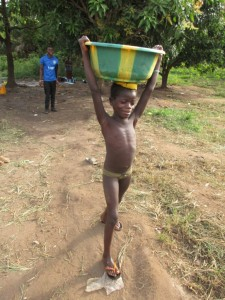 The Water Project : 5-sierraleone5088-carrying-water
