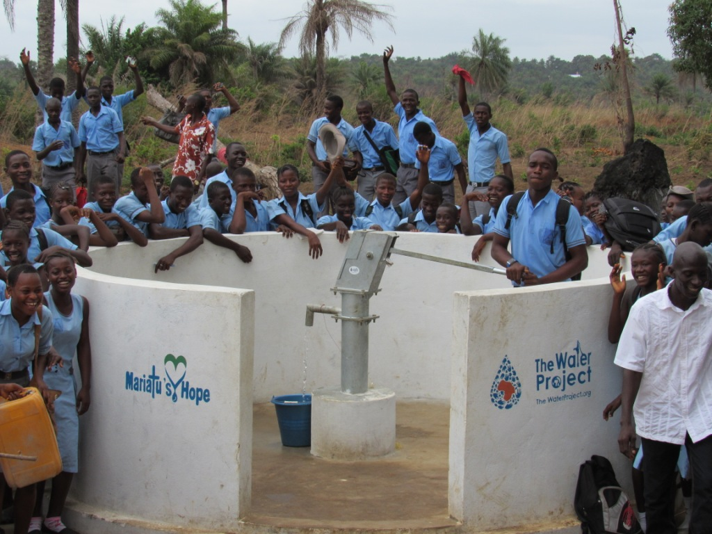 Sanaya Memorial Academy Secondary School New Well Project