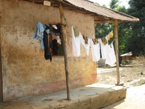 The Water Project : 7-sierraleone5089-clothesline