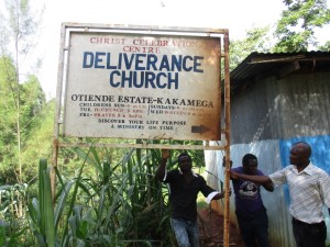 The Water Project : 1-kenya4620-church-sign