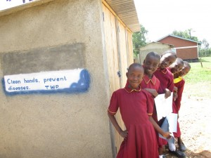 The Water Project : 12-kenya4613-finished-latrines