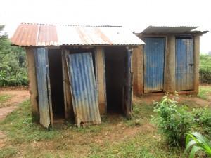 The Water Project : 12-kenya4618-latrines