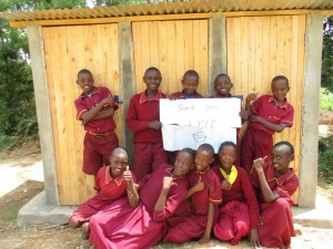 The Water Project : 14-kenya4613-finished-latrines