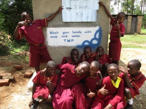 The Water Project : 15-kenya4613-finished-latrines
