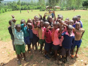 The Water Project : 2-kenya4623-students