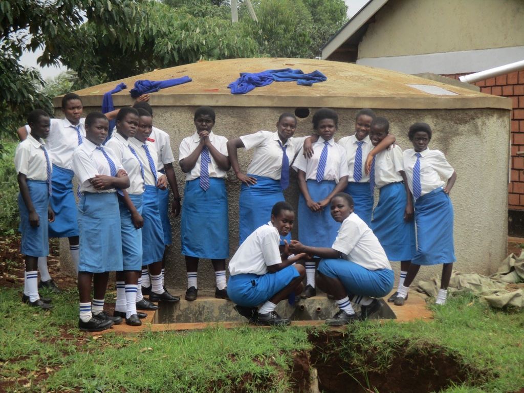 Kidinye Secondary School Rainwater Catchment Project