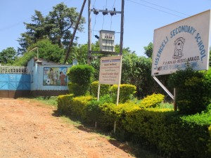 The Water Project : 3-kenya4621-school-entrance