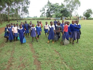 The Water Project : 4-kenya4618-students