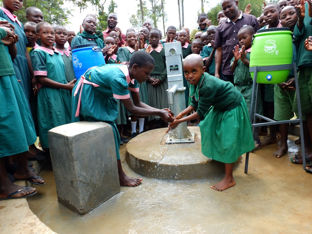 Mavusi Primary School Well Rehabilitation Project