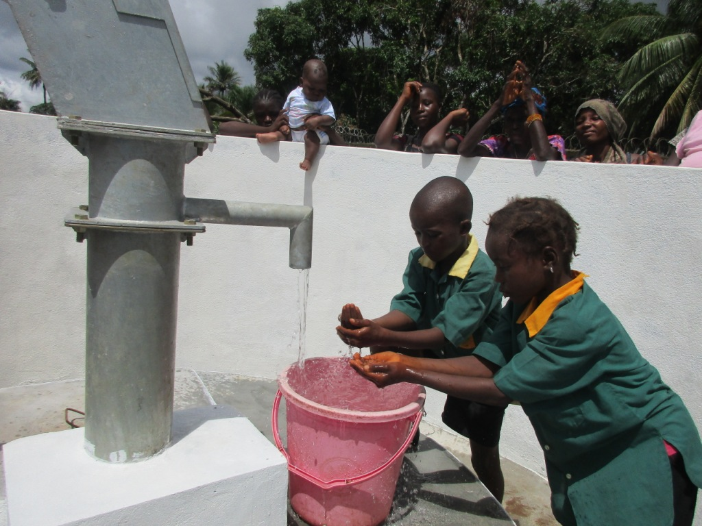 Ahmadiya Muslim Primary School Well Rehabilitation Project