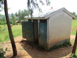 The Water Project : 5-kenya4623-latrines