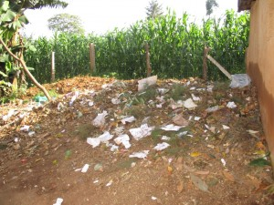 The Water Project : 6-kenya4619-garbage-pit