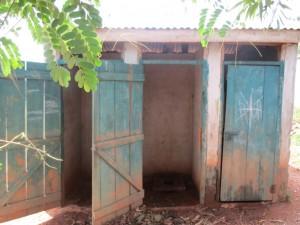 The Water Project : 6-kenya4623-latrines