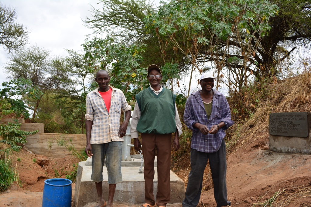 Matoma Nyumba Kumi New Well Project