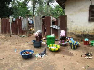 The Water Project : 11-sierraleone5091-washing-clothes