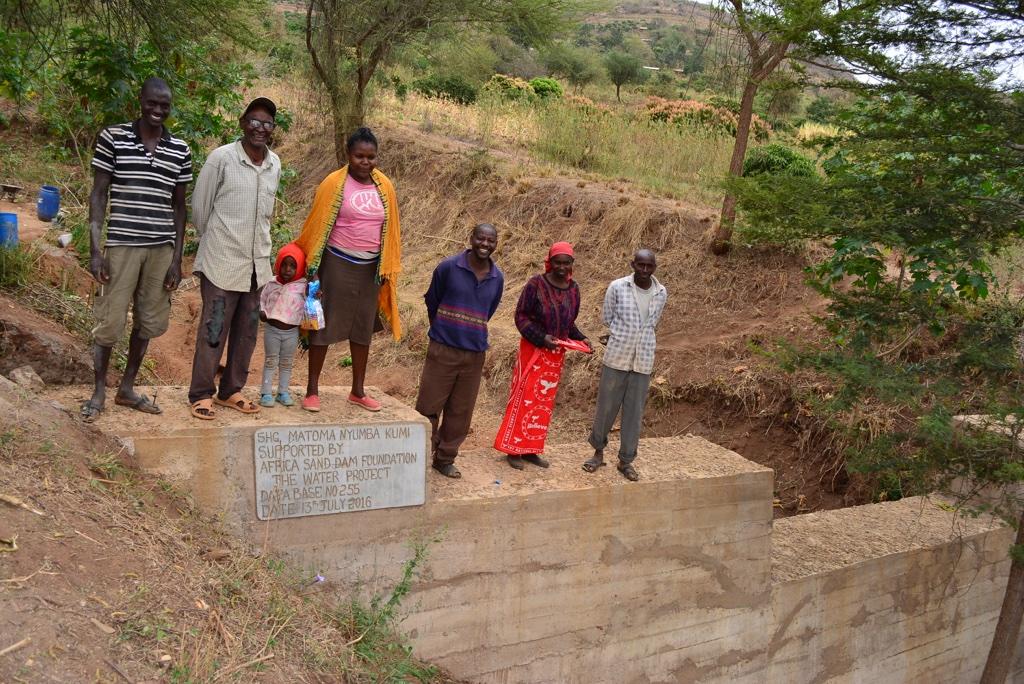 Matoma Nyumba Kumi Sand Dam Project